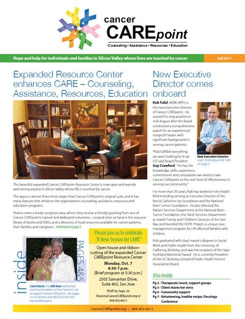Cancer CAREpoint Fall 2013 Newsletter