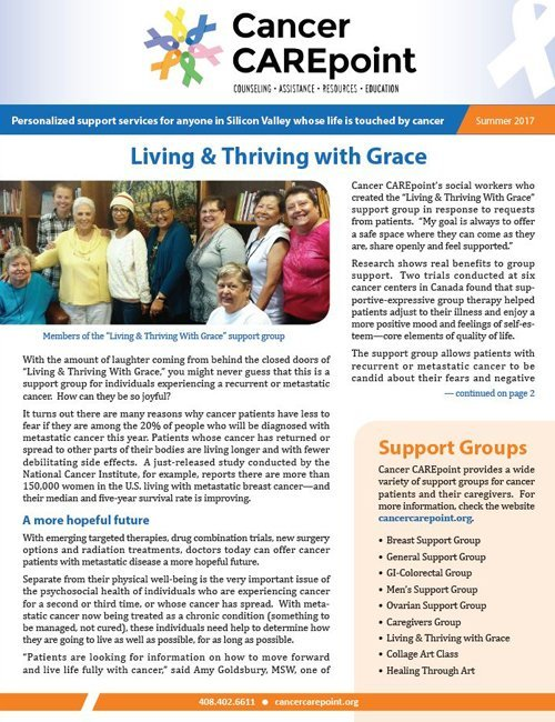 Cancer CAREpoint Summer 2017 Newsletter